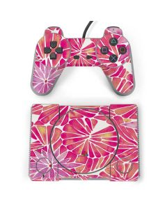 Pink Water Lilies PlayStation Classic Bundle Skin