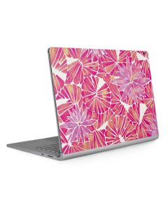 Pink Water Lilies Surface Book 2 13.5in Skin