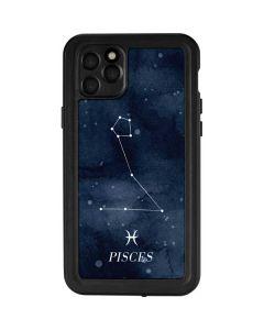 Pisces Constellation iPhone 11 Pro Max Waterproof Case
