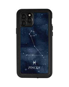 Pisces Constellation iPhone 11 Pro Waterproof Case