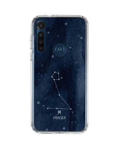 Pisces Constellation Moto G8 Power Clear Case