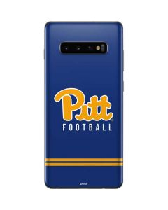 Pittsburgh Panthers Football Galaxy S10 Plus Skin