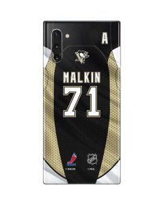 Pittsburgh Penguins #71 Evgeni Malkin Galaxy Note 10 Skin