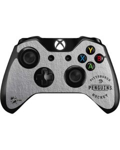 Pittsburgh Penguins Black Text Xbox One Controller Skin