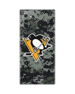 Pittsburgh Penguins Camo Galaxy Note 10 Skin