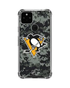 Pittsburgh Penguins Camo Google Pixel 4a 5G Clear Case