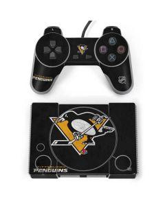 Pittsburgh Penguins Distressed PlayStation Classic Bundle Skin