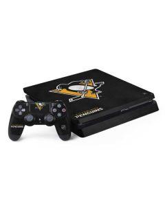 Pittsburgh Penguins Distressed PS4 Slim Bundle Skin