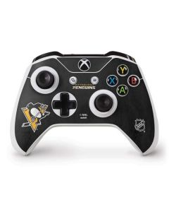 Pittsburgh Penguins Distressed Xbox One S Controller Skin