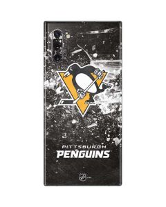 Pittsburgh Penguins Frozen Galaxy Note 10 Skin