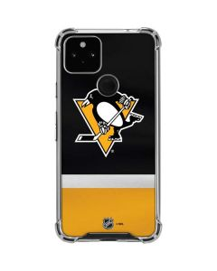 Pittsburgh Penguins Jersey Google Pixel 4a 5G Clear Case