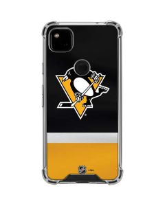 Pittsburgh Penguins Jersey Google Pixel 4a Clear Case