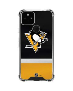 Pittsburgh Penguins Jersey Google Pixel 5 Clear Case