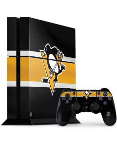 Pittsburgh Penguins Jersey PS4 Console and Controller Bundle Skin