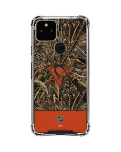Pittsburgh Penguins Realtree Max-5 Camo Google Pixel 4a 5G Clear Case