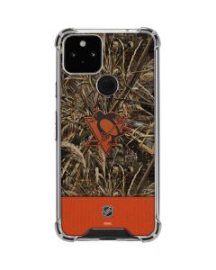 Pittsburgh Penguins Realtree Max-5 Camo Google Pixel 5 Clear Case