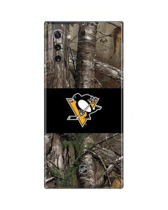 Pittsburgh Penguins Realtree Xtra Camo Galaxy Note 10 Skin
