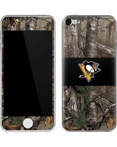 Pittsburgh Penguins Realtree Xtra Camo Apple iPod Skin