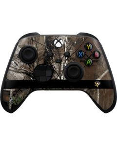 Pittsburgh Penguins Realtree Xtra Camo Xbox Series X Controller Skin