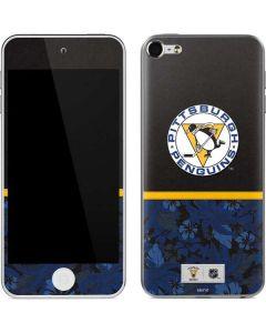 Pittsburgh Penguins Retro Tropical Print Apple iPod Skin