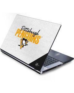 Pittsburgh Penguins Script Generic Laptop Skin