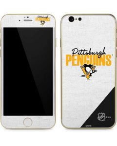 Pittsburgh Penguins Script iPhone 6/6s Skin