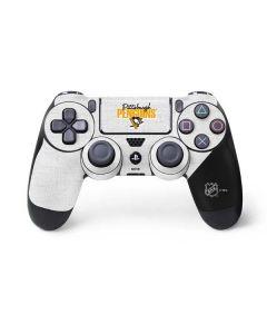 Pittsburgh Penguins Script PS4 Controller Skin