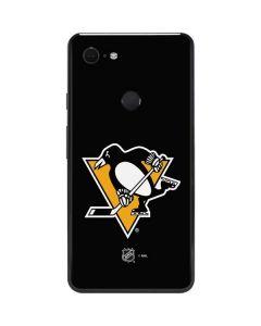 Pittsburgh Penguins Solid Background Google Pixel 3 XL Skin