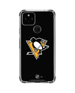 Pittsburgh Penguins Solid Background Google Pixel 4a 5G Clear Case