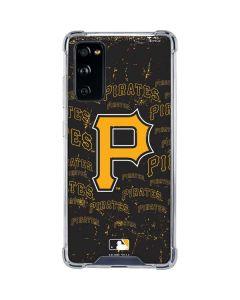 Pittsburgh Pirates - Cap Logo Blast Galaxy S20 FE Clear Case