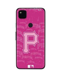 Pittsburgh Pirates - Pink Cap Logo Blast Google Pixel 4a Skin