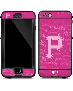 Pittsburgh Pirates - Pink Cap Logo Blast LifeProof Nuud iPhone Skin