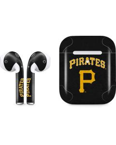 Pittsburgh Pirates - Solid Distressed Apple AirPods 2 Skin