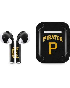 Pittsburgh Pirates - Solid Distressed Apple AirPods Skin
