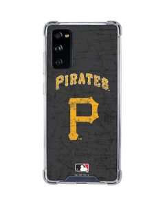 Pittsburgh Pirates - Solid Distressed Galaxy S20 FE Clear Case