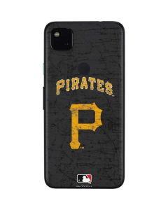 Pittsburgh Pirates - Solid Distressed Google Pixel 4a Skin
