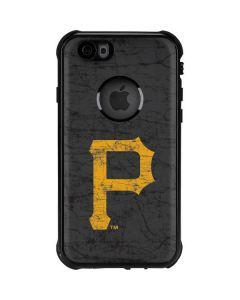 Pittsburgh Pirates - Solid Distressed iPhone 6/6s Waterproof Case
