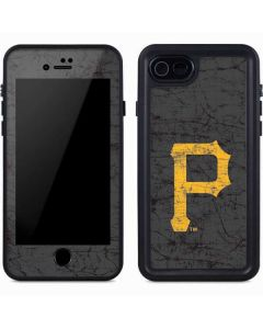 Pittsburgh Pirates - Solid Distressed iPhone 8 Waterproof Case
