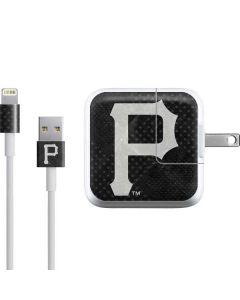 Pittsburgh Pirates Dark Wash iPad Charger (10W USB) Skin