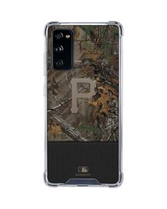 Pittsburgh Pirates Realtree Xtra Camo Galaxy S20 FE Clear Case
