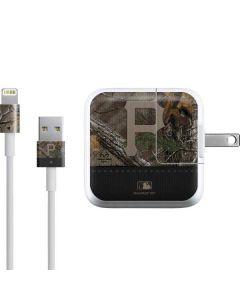 Pittsburgh Pirates Realtree Xtra Camo iPad Charger (10W USB) Skin