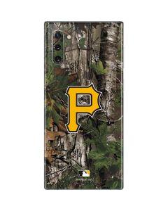 Pittsburgh Pirates Realtree Xtra Green Camo Galaxy Note 10 Skin