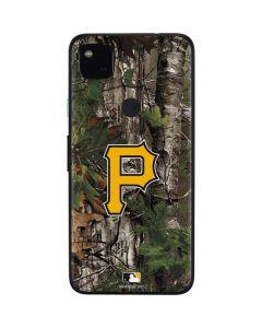 Pittsburgh Pirates Realtree Xtra Green Camo Google Pixel 4a Skin