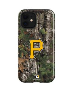 Pittsburgh Pirates Realtree Xtra Green Camo iPhone 12 Case