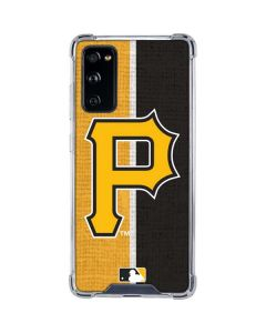 Pittsburgh Pirates Split Galaxy S20 FE Clear Case