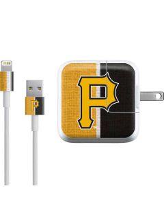 Pittsburgh Pirates Split iPad Charger (10W USB) Skin
