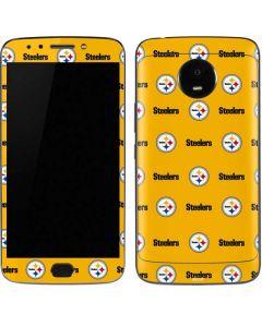 Pittsburgh Steelers Blitz Series Moto E4 Plus Skin