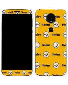 Pittsburgh Steelers Blitz Series Moto E5 Plus Skin