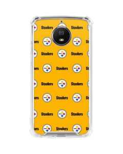 Pittsburgh Steelers Blitz Series Moto G5S Plus Clear Case