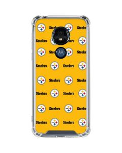 Pittsburgh Steelers Blitz Series Moto G7 Power Clear Case